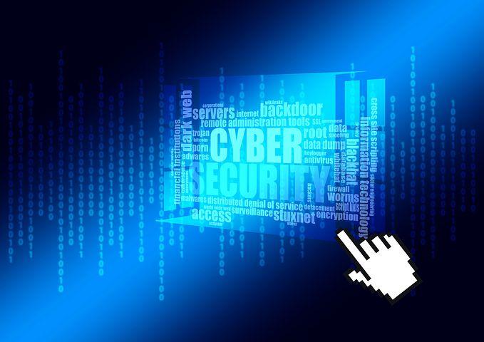image: cyber security binary