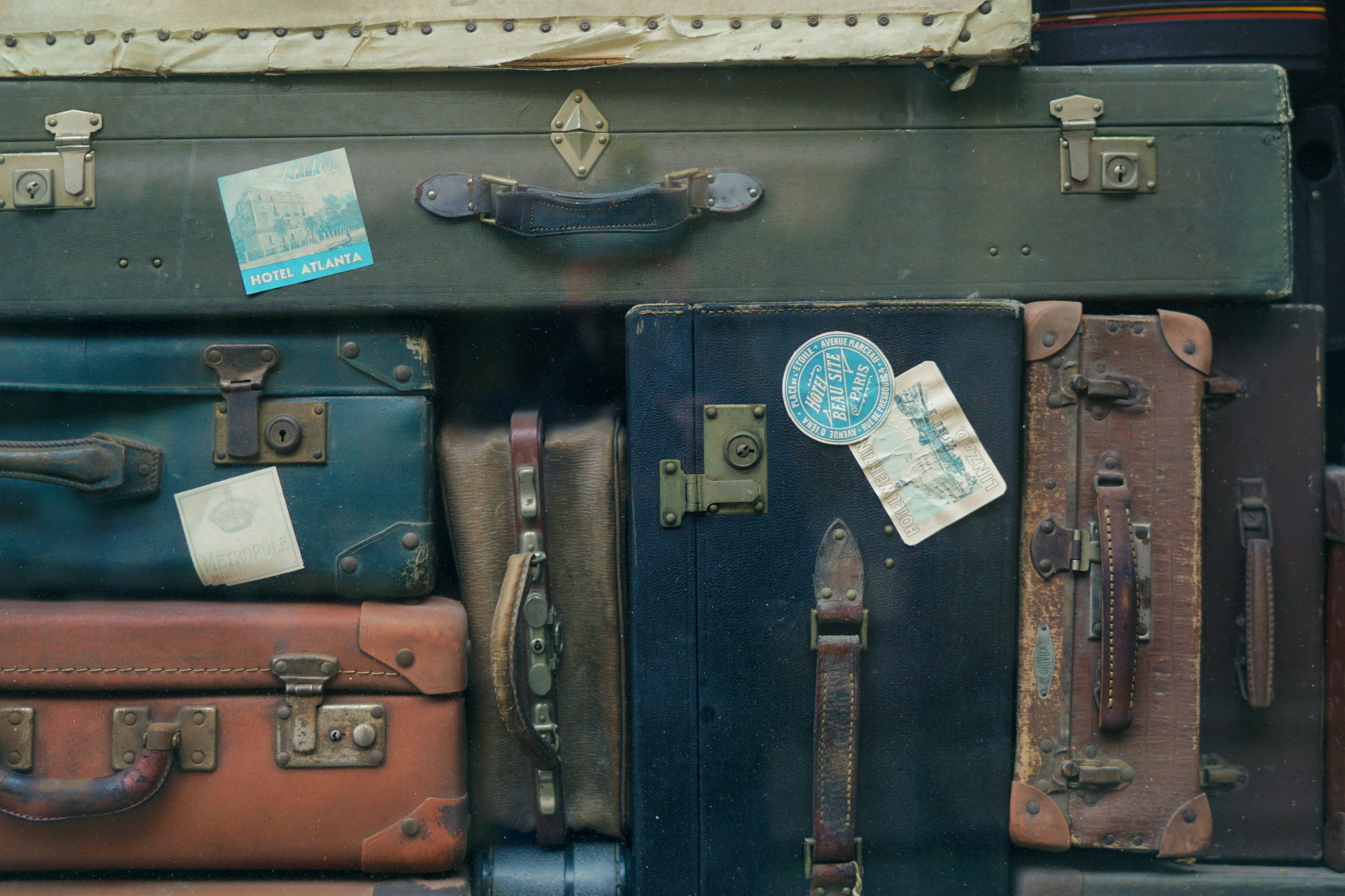 Image: Stacked Suitcases